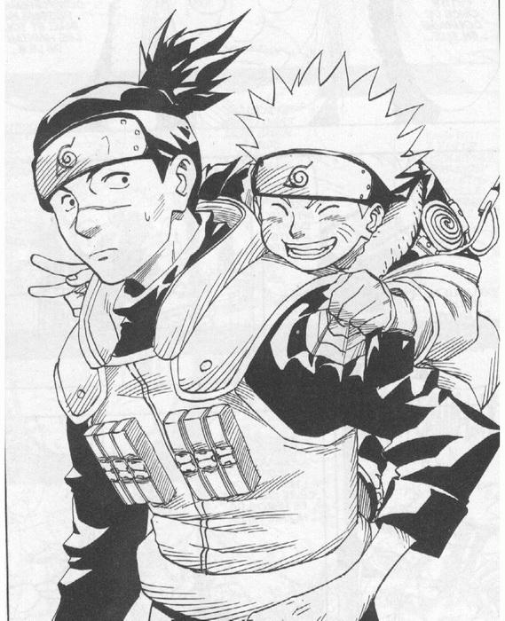 Des coloriages manga pour enfants - Manga naruto dessin ...