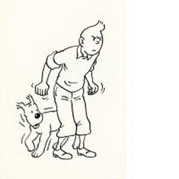 Des Coloriages Tintin 02 Pour Enfants