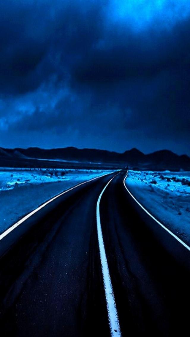 Fond D Ecran Iphone 5 Bleu 06 640x1136 Gratuit