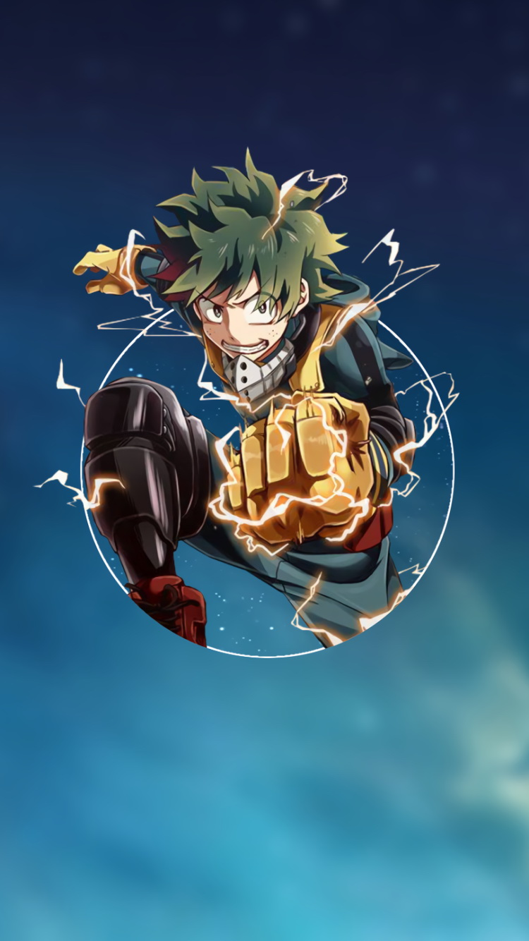 Fond D Ecrans Iphone 6 My Hero Academia 750x1334 Gratuit