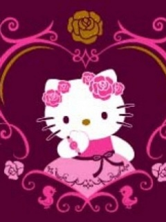Fond Hello Kitty Mobile 20 Pour Nokia 240x320 Gratuit