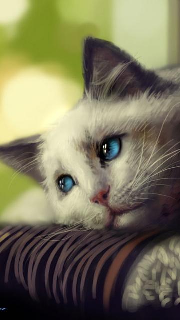lonely sad cat - photo #21